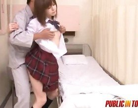 Naughty Japanese Teen Gets Fucked