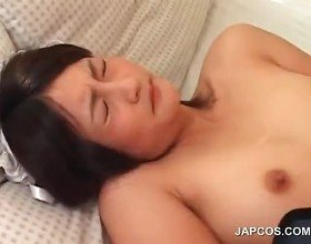 Asian maiden fucking cock gets mouth cumfilled