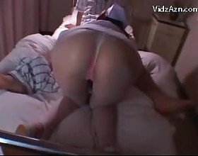 Hot Nurse Giving Blowjob For Patient On The Hospitals Bed