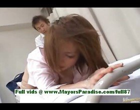 Nagomi momono horny asian nurse gets her hands tied