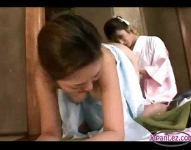 Asian girl getting her pussy licked toes sucked fingered in