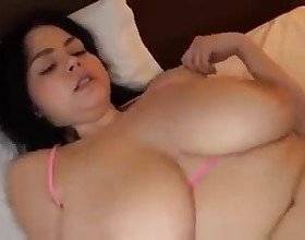 Huge Amateur Tits: Free Asian Porn Video 3c -