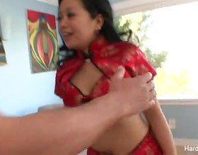 Hot Asian gets fucked hard