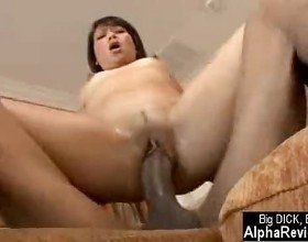 Hot Asian Miley Villa Fucked By Big Black Cock