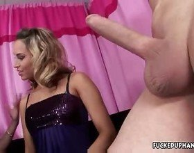 Aleksadirty babes gives handjob