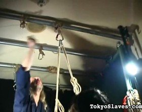 Tied Japanese Bad Girl