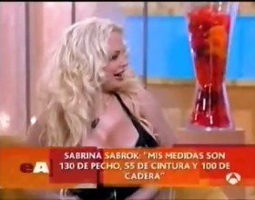 Sabrina Sabrok celeb largest breast in the world, interviews part2