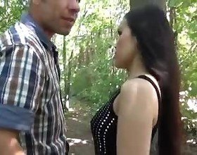 Asian Girl in German Public, Free Outdoor Porn 07:
