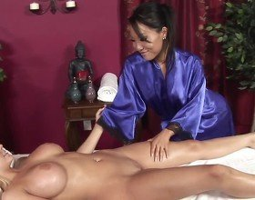 Blond-brunette Blissful Massage3, Free HD Porn 0c: