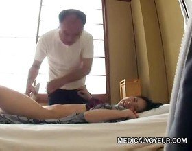 Wife caught cheating with her massager  voyeurcam