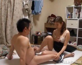 Astounding Chinese Mature Performs His Marital Duty