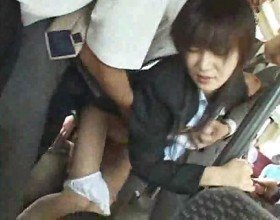 Japanese Slut in Upskirt Oriental Public Nudity