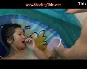 Asian piss love5