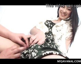 Sexy Japanese stunning brunette pleased http://japan-adult.com/Xvid