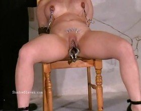 Asian needle bdsm of busty japanese Tigerr Juggs in extreme piercing pain