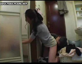 Asian kitchen sex