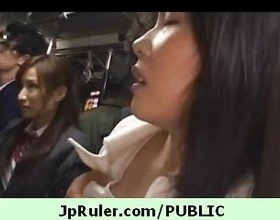 Naughtiest and sexies japanese doll exposing in public 43