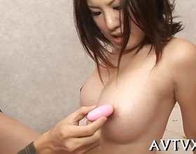 Mesmerizing Asian blowjob
